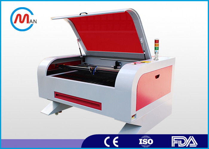 Cloth / Plastic / Acrylic / Wood Laser Cutting Machine Portable Laser Etcher