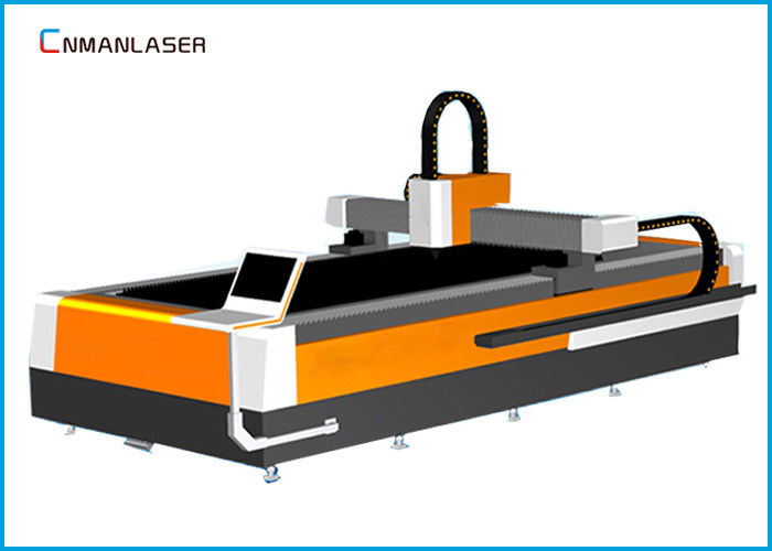 Desktop 500w 1000w Fiber Laser Cutting Machine For Metal Aluminum
