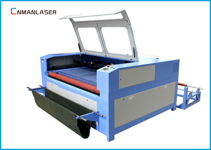 Auto Feeding UP Down Table 100w 120w Wood Fabric Leather Cnc Laser Cutting Machine