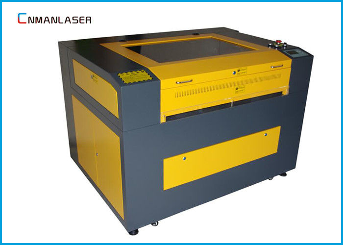 Mini Laser Cutter / Laser Cutting Equipment For Wood Stamp / Glass / Card Paper