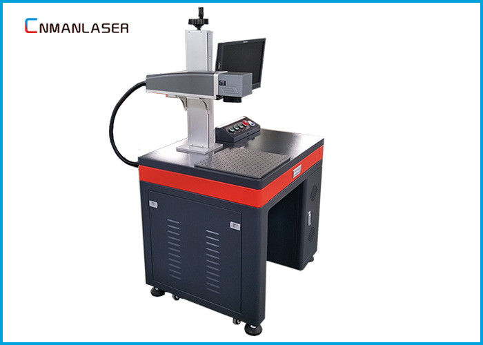 30W 1064nm Portable Fiber Laser Marking Machine Aluminum Work Table Long Lifetime